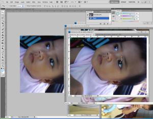 tutorial photoshop efek tumpukan foto